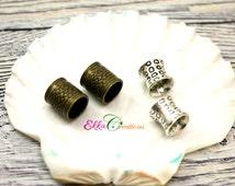 Viking Beard Beads/Dread beads/hair beads/Dwarfish Hair and Beard Bead/Dread bead set.