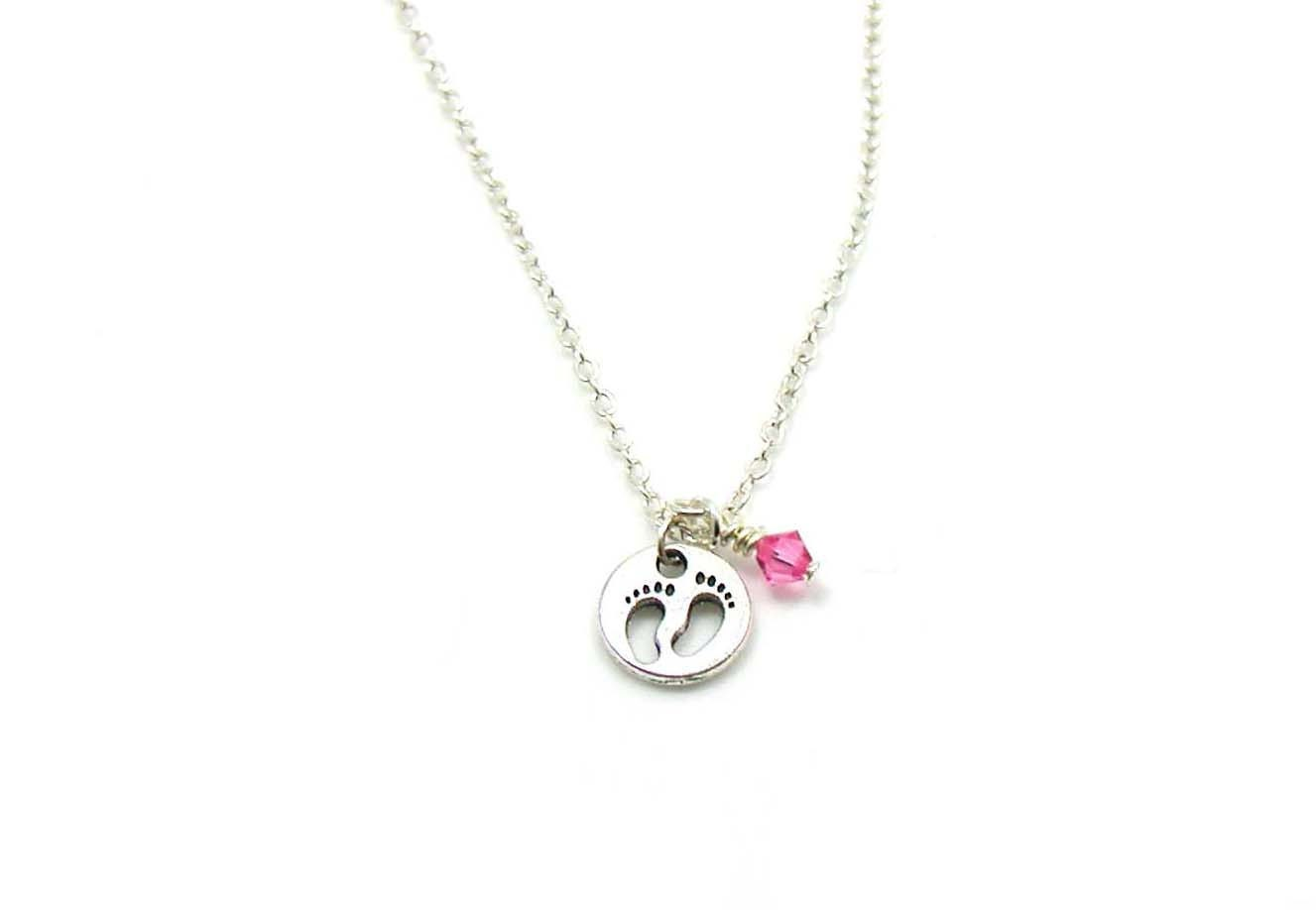 baby necklace charm necklace charm jewelry baby