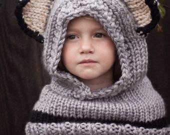 Gray Fox Hood