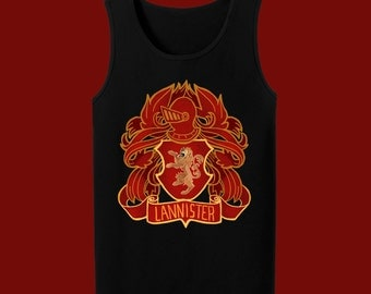House Lannister Game of Thrones Tank Top
