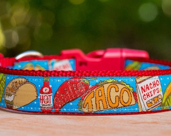 Taco Dog Collar / Mexican Food Dog Collar  / Dog Collars Australia / XS-XL