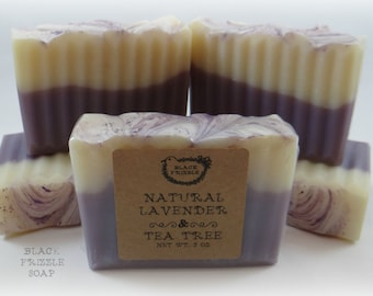 Natural Lavender & Tea Tree soap