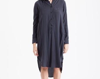 Casual Dress, Shirt Dress, Womens Dress, Dress, Button Down Shirt Dress, Women Dress, Button Shirt Dress, Over Size Shirt // Free Shipping