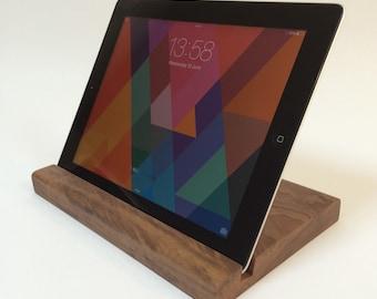 Wooden iPad Stand | Walnut | Oak