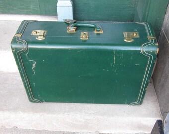 Vintage suitcase   Etsy