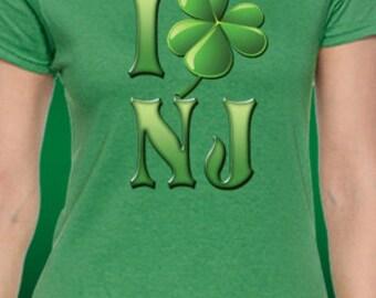 I Shamrock New Jersey St. Patrick's Day T-Shirt