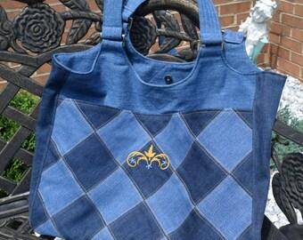 Denim Original Tote Bag, Heavy Duty, Classy