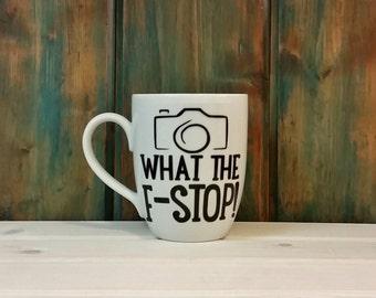 Photography mug, camera mug, funny coffee mug, coffee cup, unique mug, funny mug, gift idea for photographer