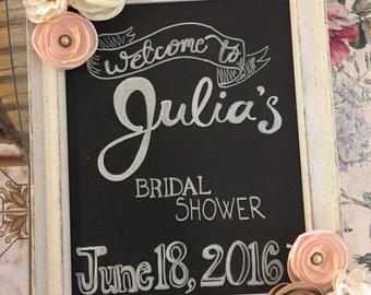 Special Occasion Chalkboard Sign