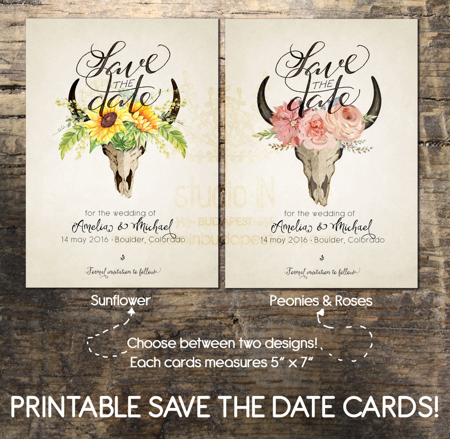 Magic image with regard to printable save the date