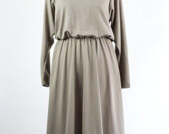 Vintage Dress // 80s //Jersey