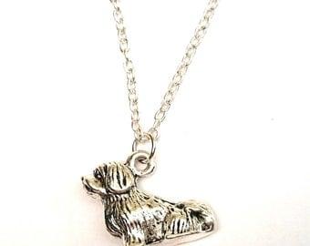 Havanese Necklace, Havanese Charm, Havanese Pendant, Havanese Jewelry, Bichon Necklace, Bichon Jewelry, Havaneser, Havanezer, Dog Necklace