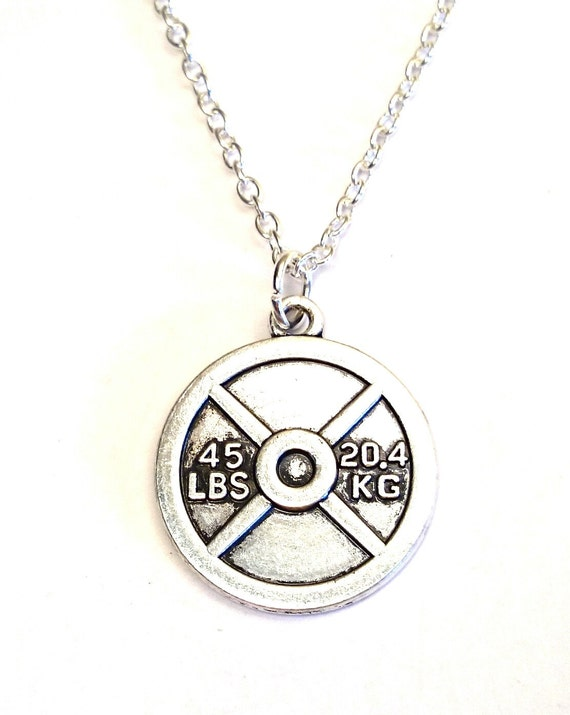 weight necklace weight charm weight by gustavsdachshundshop