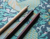 Calligraphy straight nib pen holder. Wood finish. Elegant dip pen holder.