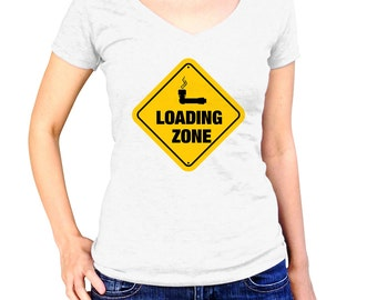 Weed Clothes - Loading Zone - Marijuana Pipe - Weed Pipe - Pot Shirt - Weed Shirt - Weed Stuff - Weed Tshirt - Weed T Shirt - Weed Tee