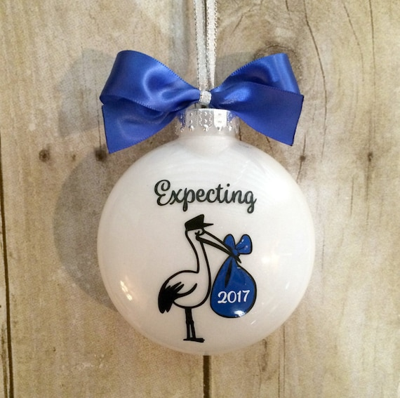 We Are Expecting Ornament Pregnancy Ornament by ...
