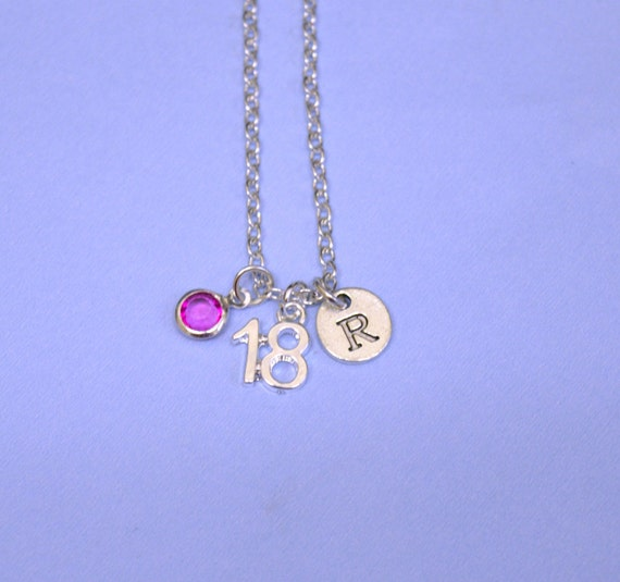 18th Birthday Gift 18th Birthday Necklace Jewelry Birthday
