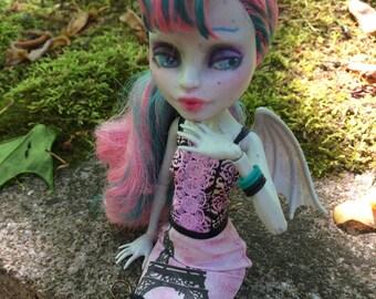 Custom OOAK Rochelle Goyle Monster High Doll