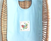 100 % Organic cotton baby bib, organic bib, newborn baby bib,embroidery patch,baby gift