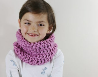 Girls Snood, Girls Scarf, Kids Scarf, Childrens Scarf, Winter Accessories