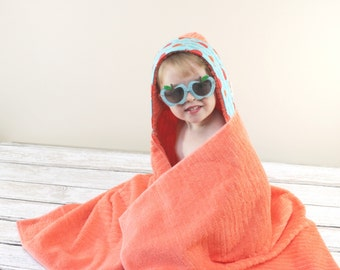 Summer Gift Ideas - Baby Shower Gift - Hooded Towel - Babyshower Gift - Boys Hooded Towel - Towel Hoodie - Girls Hooded Towel - New Baby
