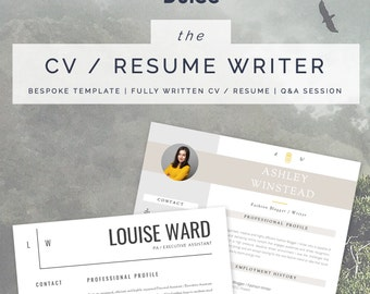 Custom CV Writing Service