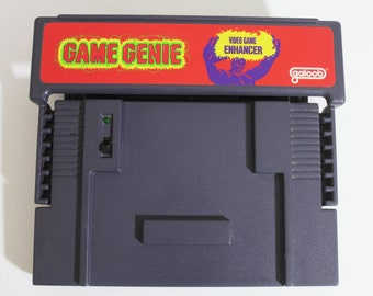 Game Genie for Super Nintendo SNES: Video Game Enhancer by Galoob Model 7353, 16 Bit Gamer Geeky Gift