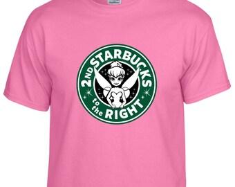 Disney Inspired Tinkerbell Starbucks Custom Vacation Shirt