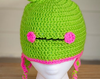 Crocheted Frog Hat