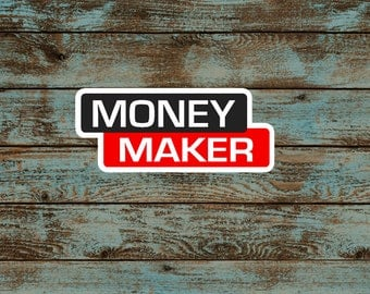 Money Maker Welder Decal/Weld Sticker/Lincoln Welding/Vinyl Decal