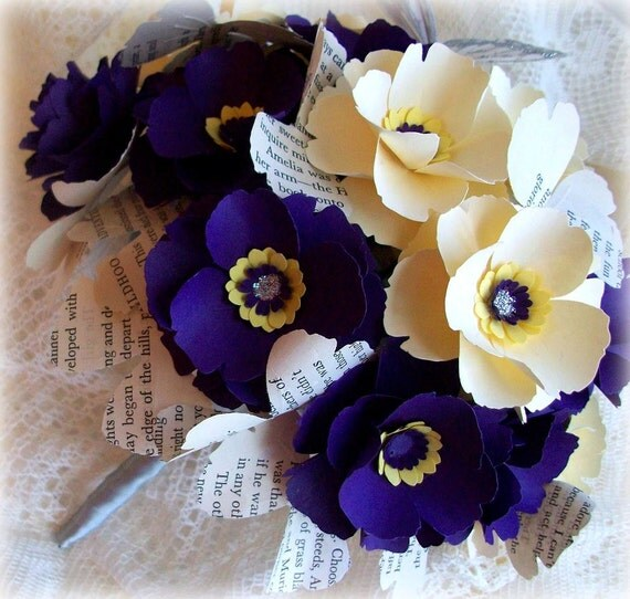 Diy Flower Bouquet Wedding: DIY Paper Flower Bouquet Templates & Patterns