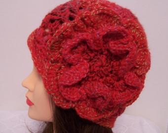 Red Ladies Hat