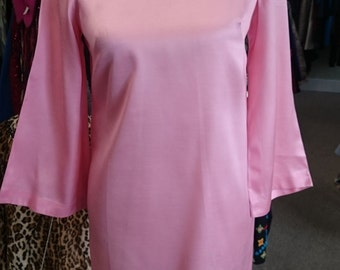 Vintage 1960's pink Dress