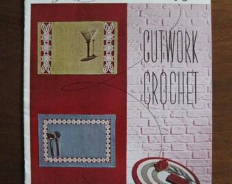 Cutwork Crochet, Instruction Booklet, Lily Design Book No 81, Vintage