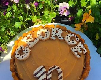 Handmade Dog's Birthday Cake..All Natural..No Nasties