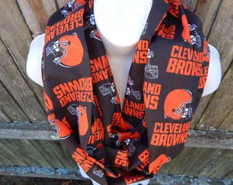 Cleveland Browns Infinity Scarf