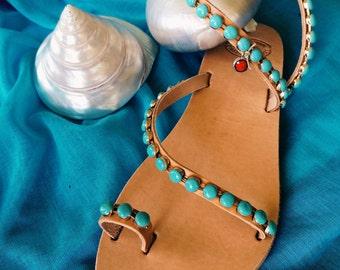 "Handmade Sandals ""ELEKTRA"""