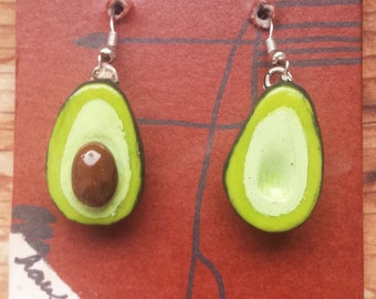 Avacado Earrings