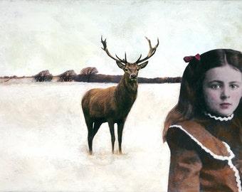 First Snow - Original Painting