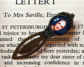Mary Shelley Bookmark, Frankenstein Gift, Mary Shelley Gothic Novel Gift, Mary Wollstonecraft Shelley Bookmark, Gothic Frankenstein Bookmark