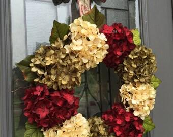 Christmas Wreath with Handmade Bow