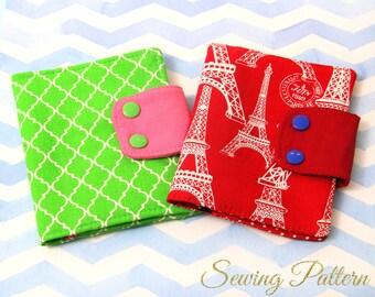 Passport Holder Pattern, Passport Cover Pattern,  Clutch sewing pattern, Sewing Pattern PDF, Purse sewing pattern,  PASSPORT PATTERN (B903)