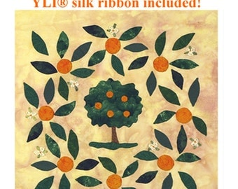 Orange Grove Applique quilt pattern