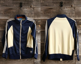 SALE - Vintage ADIDAS 3 Stripe Jacket