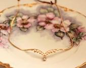 Lily of the Valley Wreath, Fairy Crown, Forehead Band, Bohemian Hair Chain, Fairy Jewelry, Goddess Wreath, Bridal Hair Accessories