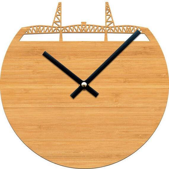 Hawthorne Bridge Clock - Portland, Oregon