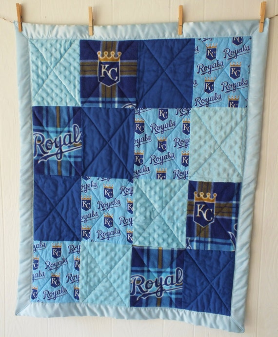 Kansas City Royals Baby Quilt