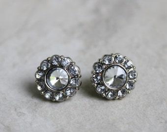 Crystal Bridal Earrings, Bridesmaid Earring Gift, Bridesmaid Jewelry, Bridesmaid Gift, Rhinestone Earrings, Crystal Jewelry, Bridal Jewelry