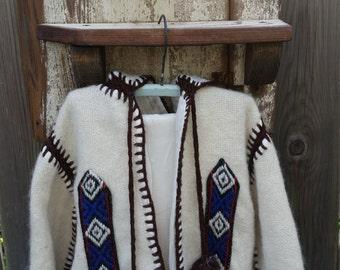 Vintage aztec Peruvian toddler sweater jacket