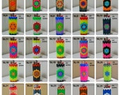 Seed of Life Perler Bead LIGHTER CASE - bic - lighter cases - lighter cover